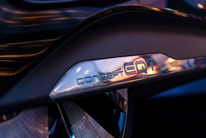 Mercedes-Benz Concept EQT makes its official debut – previews new all-electric version of upcoming T-Class Image #1293319