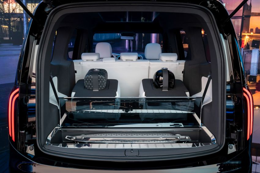 Mercedes-Benz Concept EQT makes its official debut – previews new all-electric version of upcoming T-Class Image #1293321