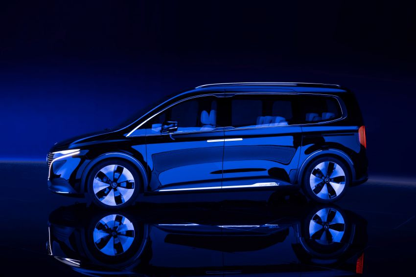 Mercedes-Benz Concept EQT makes its official debut – previews new all-electric version of upcoming T-Class Image #1293322