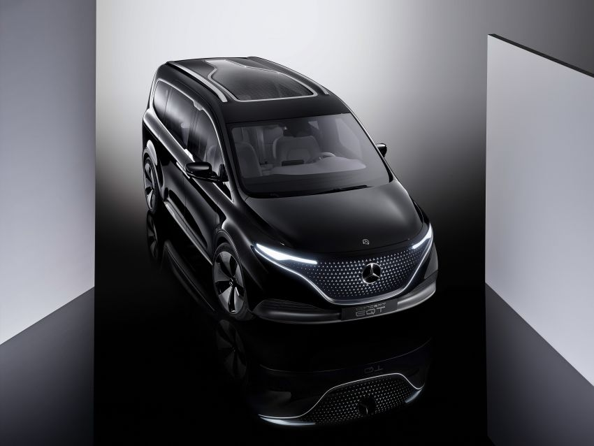 Mercedes-Benz Concept EQT makes its official debut – previews new all-electric version of upcoming T-Class Image #1293324