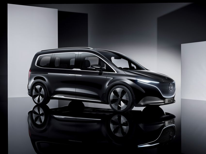 Mercedes-Benz Concept EQT makes its official debut – previews new all-electric version of upcoming T-Class Image #1293325