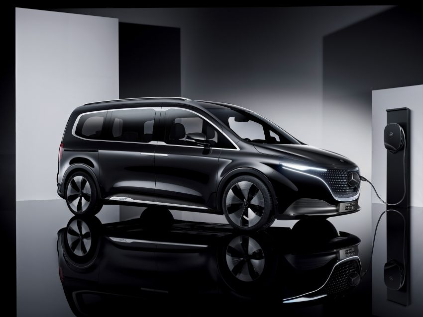 Mercedes-Benz Concept EQT makes its official debut – previews new all-electric version of upcoming T-Class Image #1293326