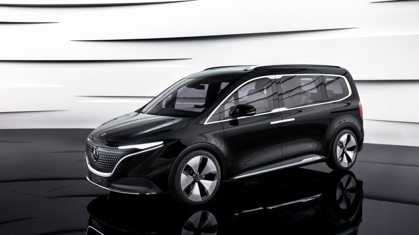 Mercedes-Benz Concept EQT makes its official debut – previews new all-electric version of upcoming T-Class Image #1293288