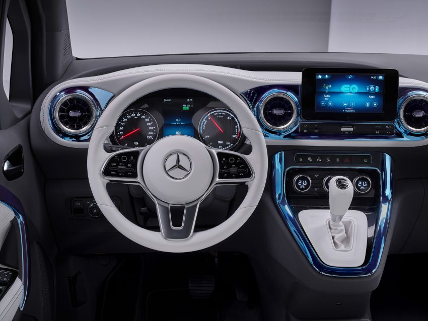 Mercedes-Benz Concept EQT makes its official debut – previews new all-electric version of upcoming T-Class Image #1293329