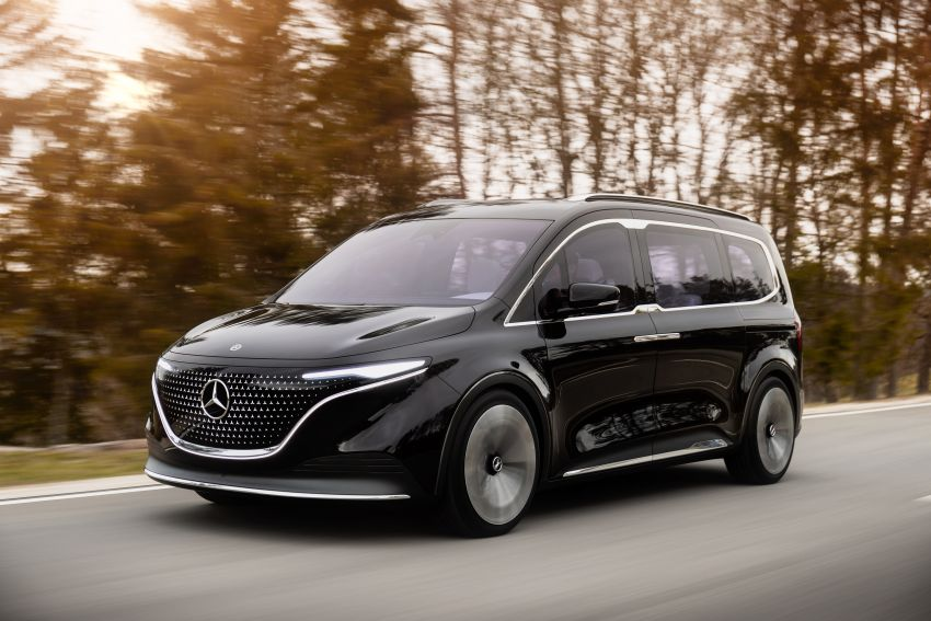Mercedes-Benz Concept EQT makes its official debut – previews new all-electric version of upcoming T-Class Image #1293332