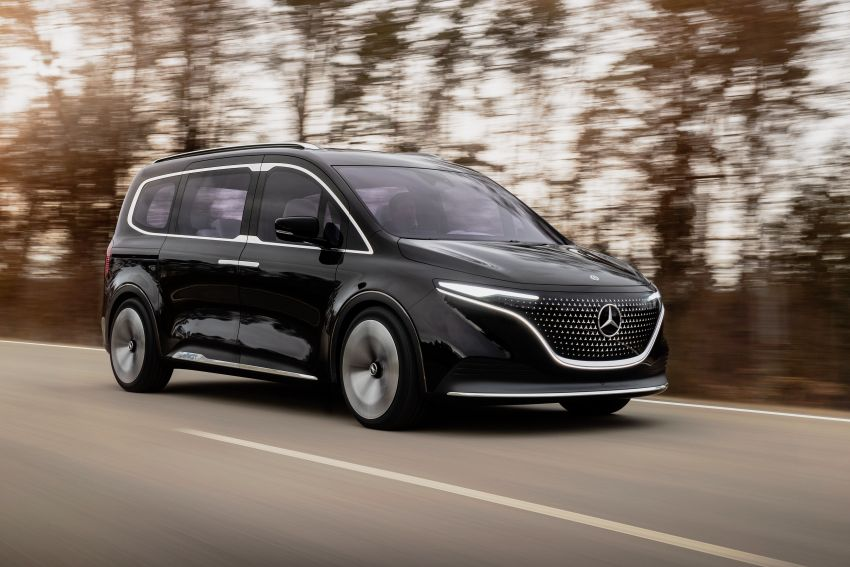 Mercedes-Benz Concept EQT makes its official debut – previews new all-electric version of upcoming T-Class Image #1293333