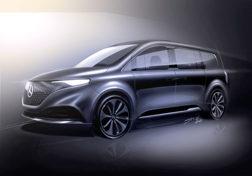 Mercedes-Benz Concept EQT makes its official debut – previews new all-electric version of upcoming T-Class Image #1293335