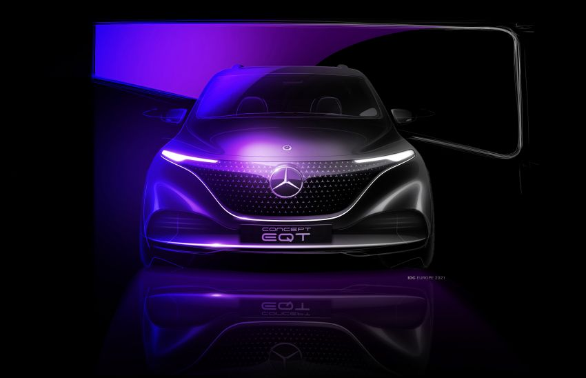 Mercedes-Benz Concept EQT makes its official debut – previews new all-electric version of upcoming T-Class Image #1293336