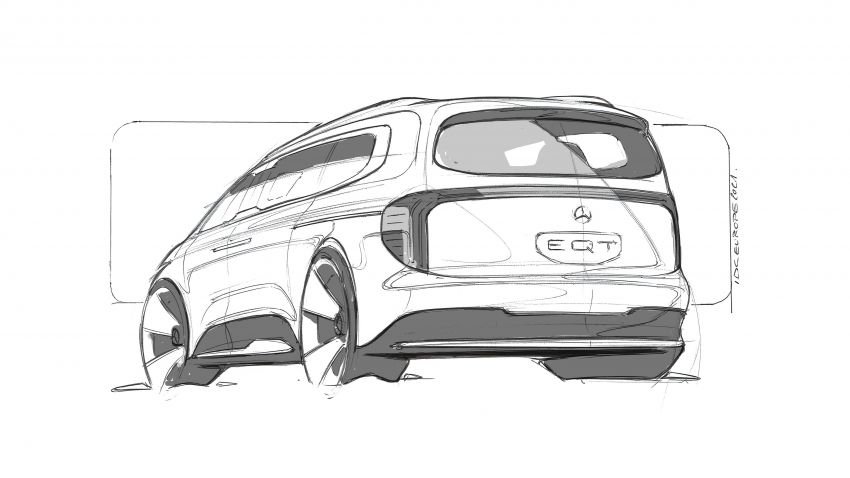 Mercedes-Benz Concept EQT makes its official debut – previews new all-electric version of upcoming T-Class Image #1293338