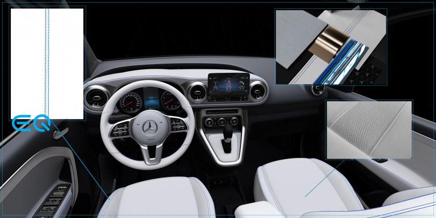 Mercedes-Benz Concept EQT makes its official debut – previews new all-electric version of upcoming T-Class Image #1293340