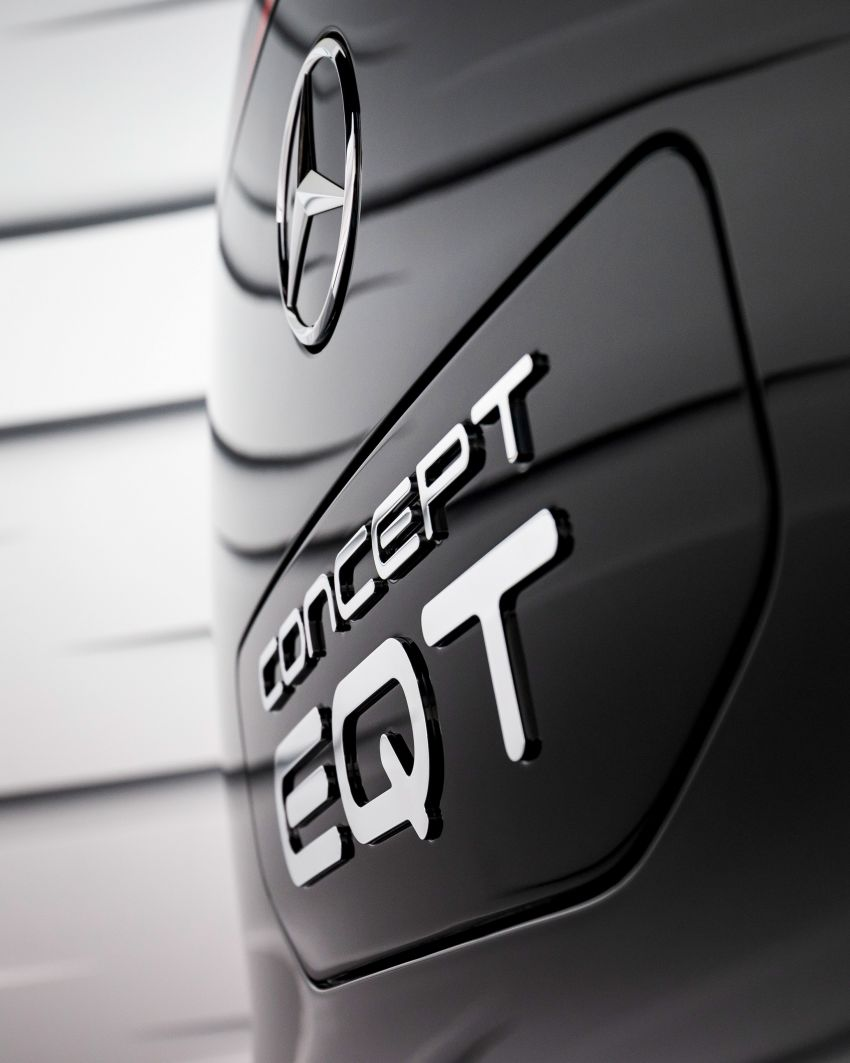 Mercedes-Benz Concept EQT makes its official debut – previews new all-electric version of upcoming T-Class Image #1293291