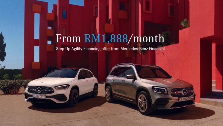 AD: Drive home a new Mercedes-Benz for as low as RM1,888 per month with Step Up Agility Financing Image #1293686