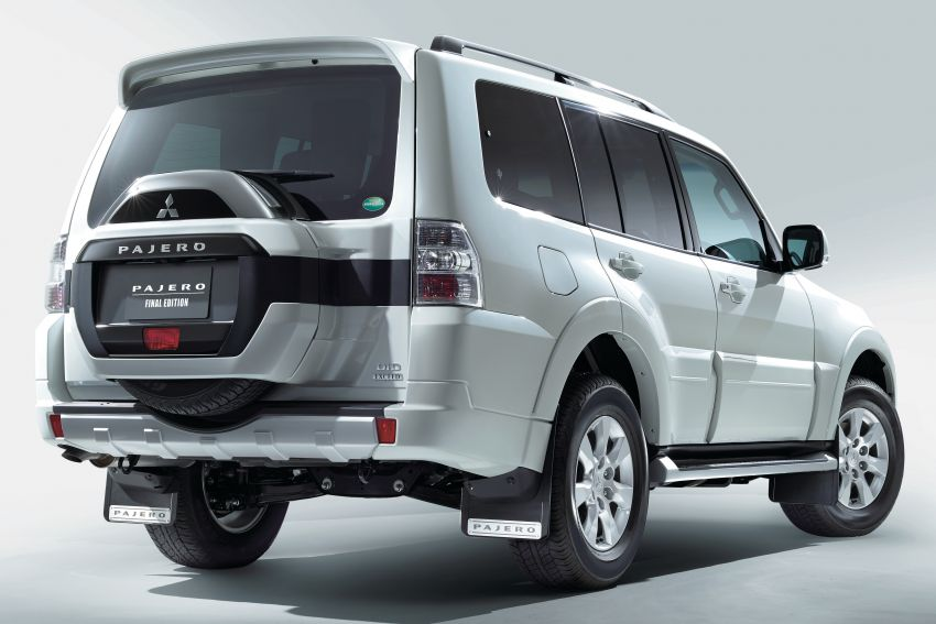 Mitsubishi Pajero Final Edition lands in Australia – 800 units, extra accessories, from RM176k to RM204k Image #1294651