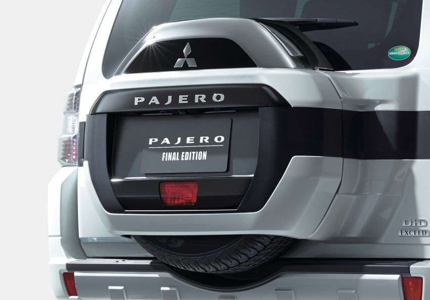Mitsubishi Pajero Final Edition lands in Australia – 800 units, extra accessories, from RM176k to RM204k Image #1294652