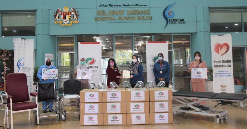 Perodua contributes RM80,000 in additional medical supplies and equipment to Hospital Sungai Buloh Image #1295039