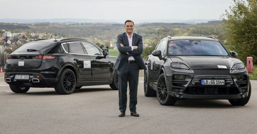 New Porsche Macan – electric SUV starts tests, to be introduced in 2023; petrol version to debut this year Image #1293180