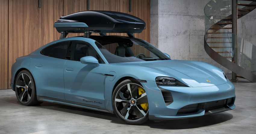 Porsche Tequipment launches Performance roof box – 480 litres of additional space, stable at up to 200 km/h! Image #1292115
