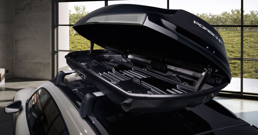 Porsche Tequipment launches Performance roof box – 480 litres of additional space, stable at up to 200 km/h! Image #1292116
