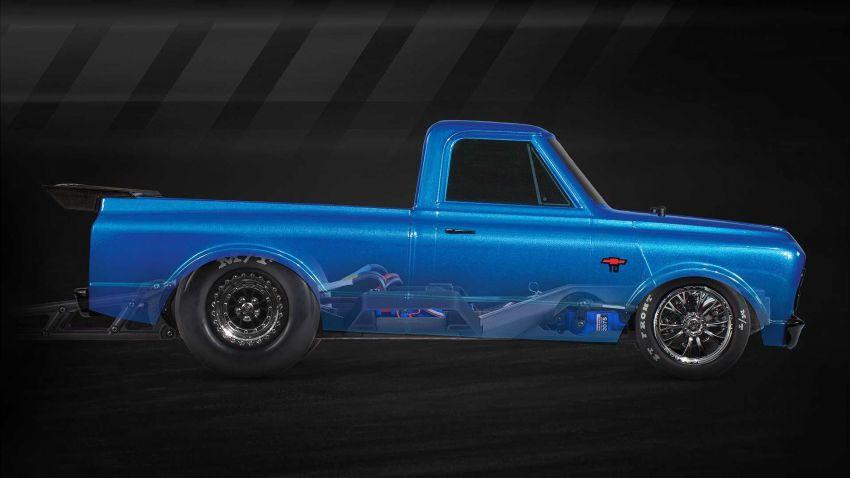 Traxxas Drag Slash Chevy Pickup – trak drag kawalan jauh realistik dengan tayar Mickey Thompson sebenar! Image #1299897
