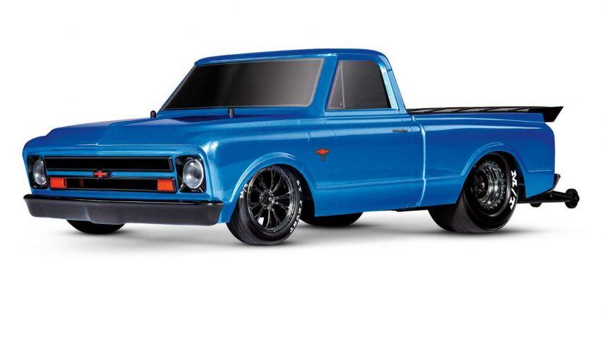 Traxxas Drag Slash Chevy Pickup – trak drag kawalan jauh realistik dengan tayar Mickey Thompson sebenar! Image #1299908