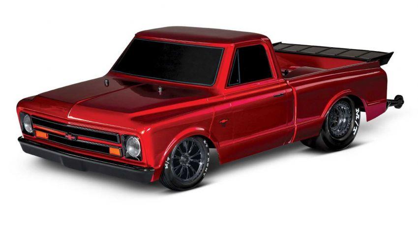 Traxxas Drag Slash Chevy Pickup – trak drag kawalan jauh realistik dengan tayar Mickey Thompson sebenar! Image #1299911