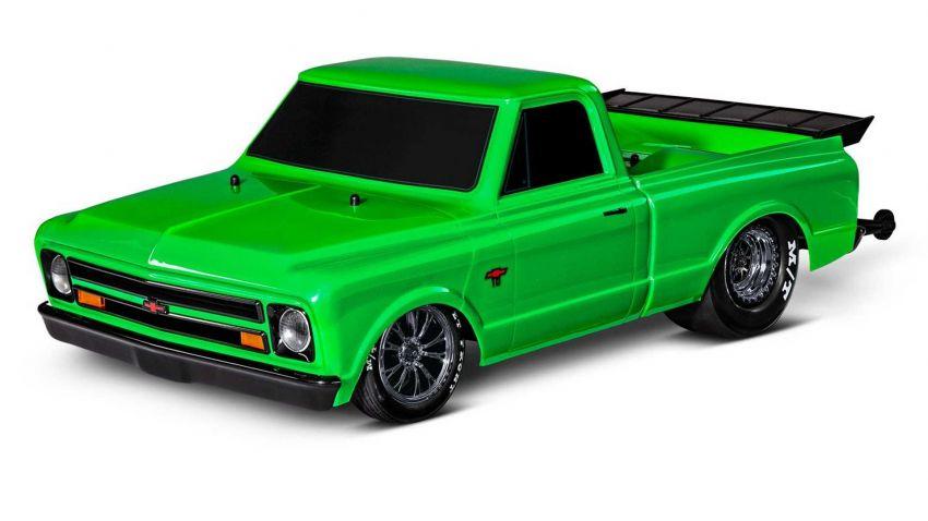 Traxxas Drag Slash Chevy Pickup – trak drag kawalan jauh realistik dengan tayar Mickey Thompson sebenar! Image #1299912