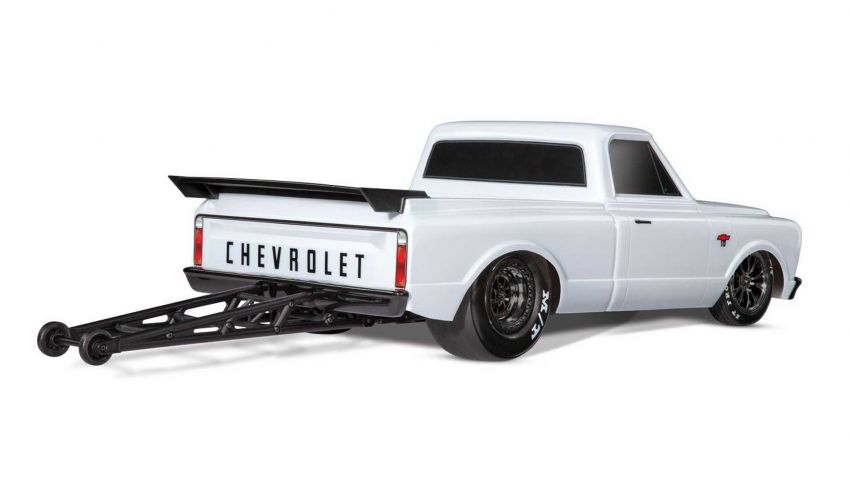 Traxxas Drag Slash Chevy Pickup – trak drag kawalan jauh realistik dengan tayar Mickey Thompson sebenar! Image #1299913