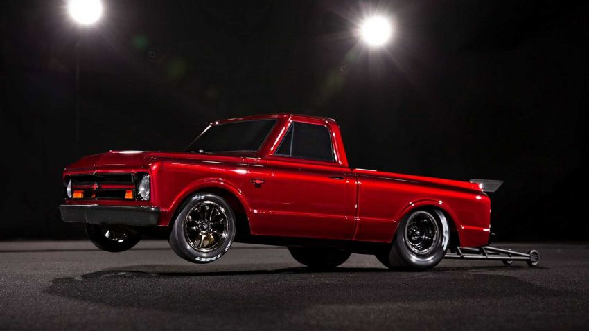 Traxxas Drag Slash Chevy Pickup – trak drag kawalan jauh realistik dengan tayar Mickey Thompson sebenar! Image #1299914