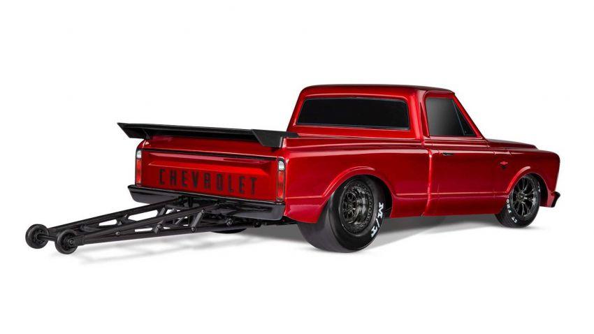Traxxas Drag Slash Chevy Pickup – trak drag kawalan jauh realistik dengan tayar Mickey Thompson sebenar! Image #1299915