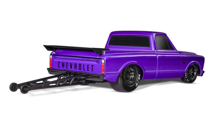 Traxxas Drag Slash Chevy Pickup – trak drag kawalan jauh realistik dengan tayar Mickey Thompson sebenar! Image #1299917