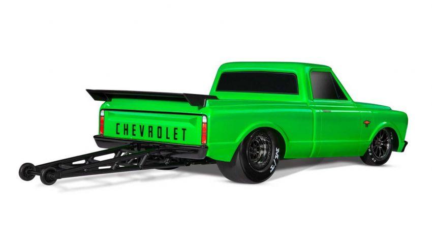 Traxxas Drag Slash Chevy Pickup – trak drag kawalan jauh realistik dengan tayar Mickey Thompson sebenar! Image #1299919