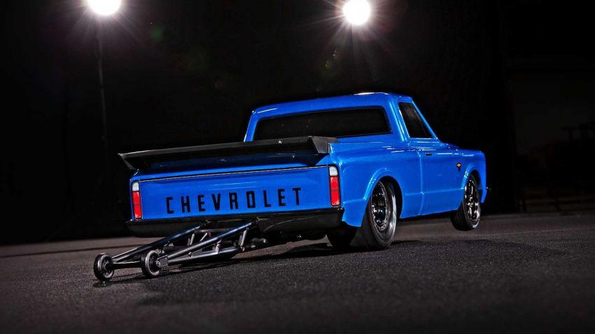 Traxxas Drag Slash Chevy Pickup – trak drag kawalan jauh realistik dengan tayar Mickey Thompson sebenar! Image #1299920