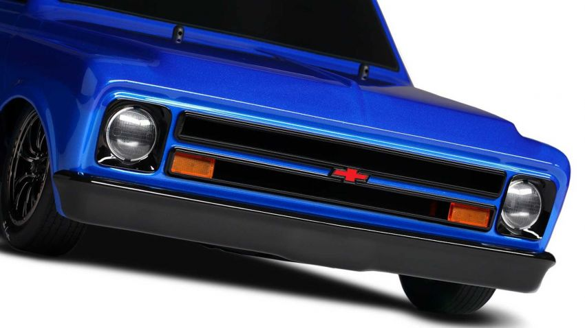 Traxxas Drag Slash Chevy Pickup – trak drag kawalan jauh realistik dengan tayar Mickey Thompson sebenar! Image #1299932