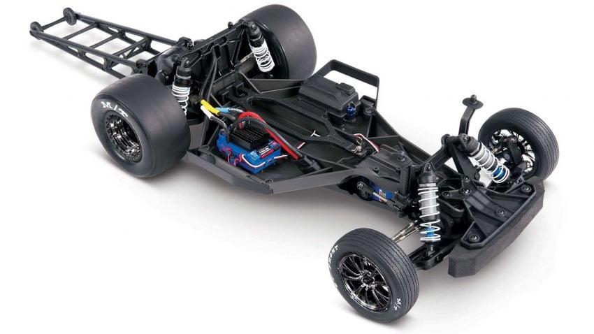 Traxxas Drag Slash Chevy Pickup – trak drag kawalan jauh realistik dengan tayar Mickey Thompson sebenar! Image #1299940