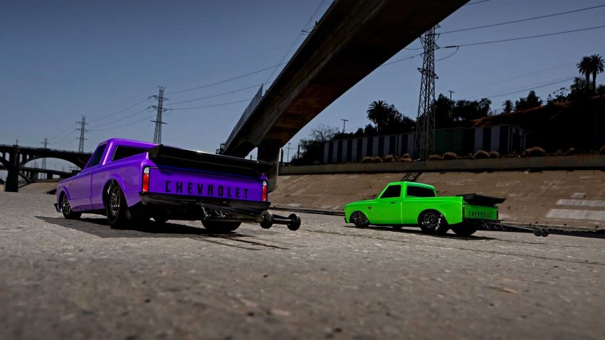 Traxxas Drag Slash Chevy Pickup – trak drag kawalan jauh realistik dengan tayar Mickey Thompson sebenar! Image #1299945