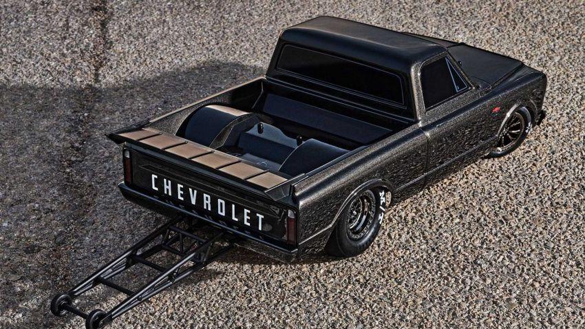 Traxxas Drag Slash Chevy Pickup – trak drag kawalan jauh realistik dengan tayar Mickey Thompson sebenar! Image #1299904