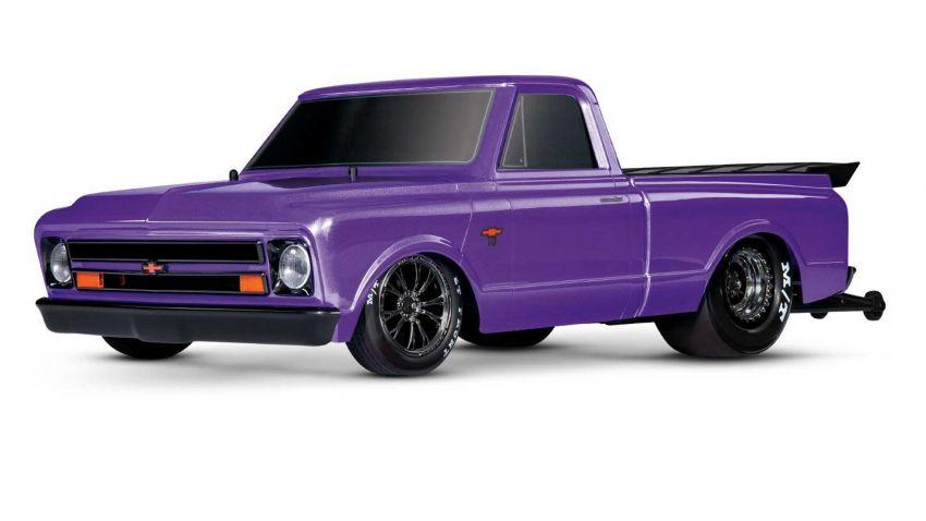 Traxxas Drag Slash Chevy Pickup – trak drag kawalan jauh realistik dengan tayar Mickey Thompson sebenar! Image #1299906