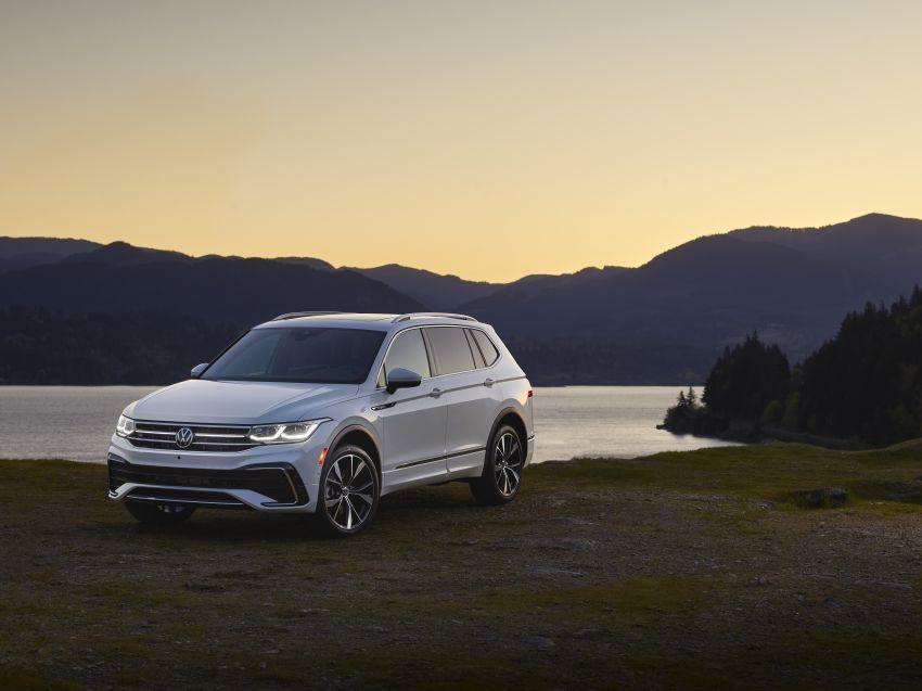 Volkswagen Tiguan Allspace facelift diperkenal – rupa dan kelengkapan dipertingkat, enjin masih sama Image #1293934