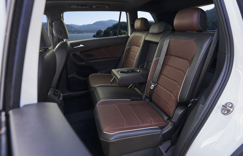 Volkswagen Tiguan Allspace facelift diperkenal – rupa dan kelengkapan dipertingkat, enjin masih sama Image #1293924