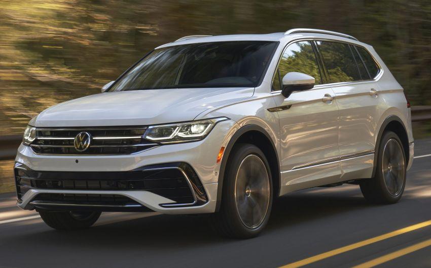 Volkswagen Tiguan Allspace facelift diperkenal – rupa dan kelengkapan dipertingkat, enjin masih sama Image #1293925
