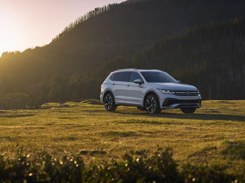Volkswagen Tiguan Allspace facelift diperkenal – rupa dan kelengkapan dipertingkat, enjin masih sama Image #1293933