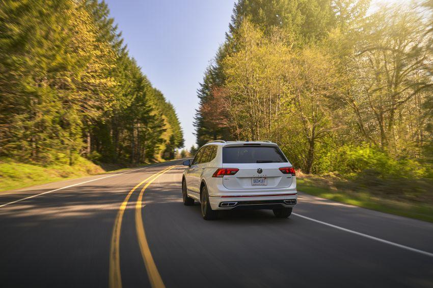 Volkswagen Tiguan Allspace facelift diperkenal – rupa dan kelengkapan dipertingkat, enjin masih sama Image #1293914