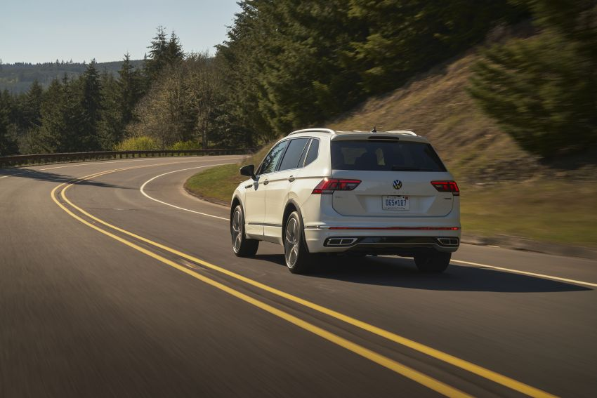 Volkswagen Tiguan Allspace facelift diperkenal – rupa dan kelengkapan dipertingkat, enjin masih sama Image #1293913