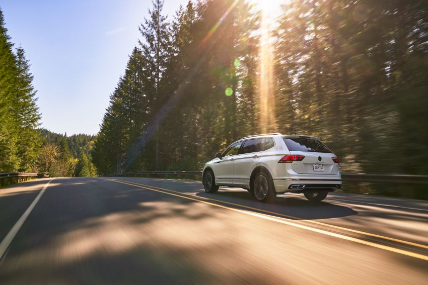 Volkswagen Tiguan Allspace facelift diperkenal – rupa dan kelengkapan dipertingkat, enjin masih sama Image #1293912
