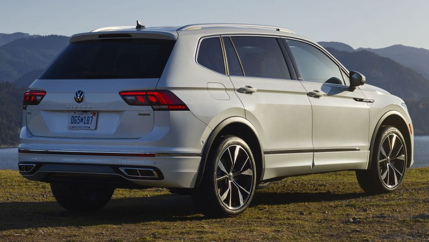 Volkswagen Tiguan Allspace facelift diperkenal – rupa dan kelengkapan dipertingkat, enjin masih sama Image #1293932