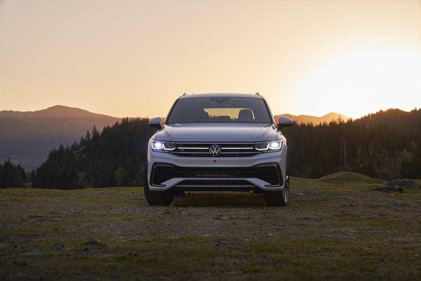 Volkswagen Tiguan Allspace facelift diperkenal – rupa dan kelengkapan dipertingkat, enjin masih sama Image #1293931