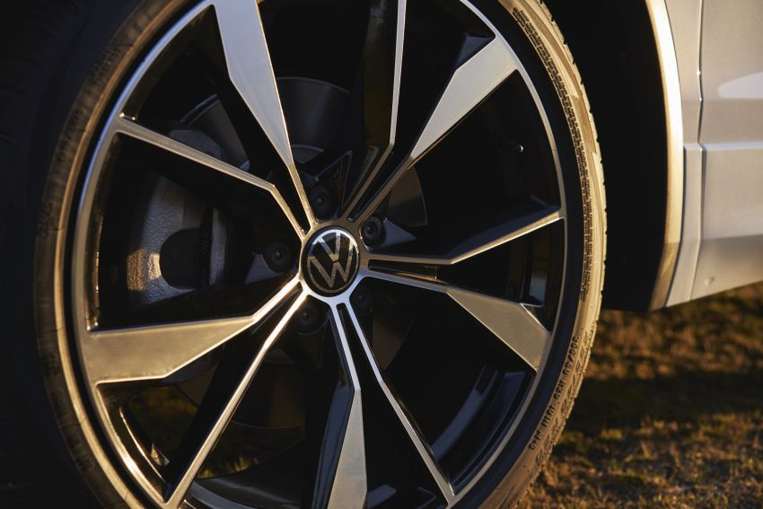 Volkswagen Tiguan Allspace facelift diperkenal – rupa dan kelengkapan dipertingkat, enjin masih sama Image #1293930