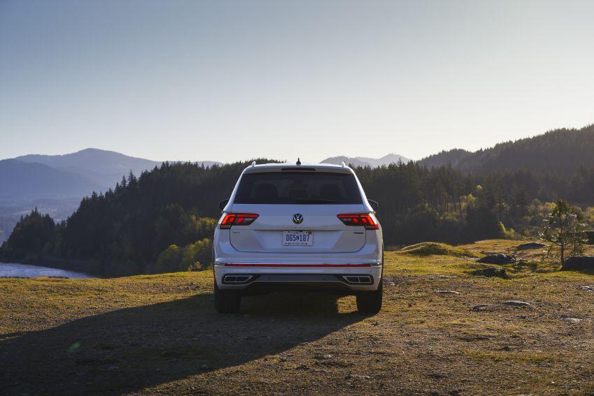 Volkswagen Tiguan Allspace facelift diperkenal – rupa dan kelengkapan dipertingkat, enjin masih sama Image #1293928