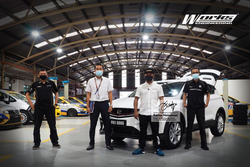 Works Engineering to develop parts for Proton X50, appoints S1K winner Fariqe Hairuman as ambassador Image #1294573