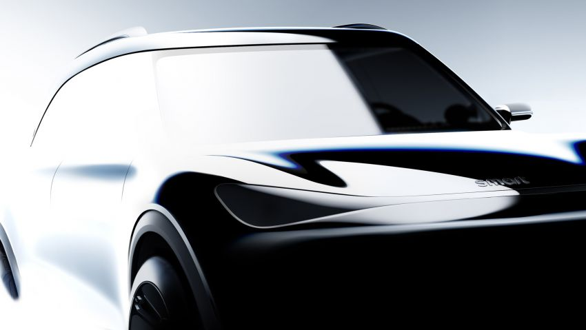 smart EV SUV concept teased ahead of official debut Image #1295542